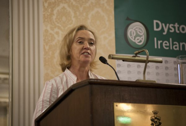 Author Liz Nugent speaking at the Dystonia Conference: Meet the Experts - An Information Meeting at the Shelbourne Hotel, Dublin, Saturday, 11 June 2016,